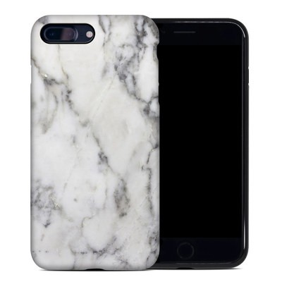 Apple iPhone 7 Plus Hybrid Case - White Marble