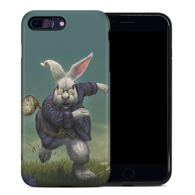Apple iPhone 7 Plus Hybrid Case - White Rabbit