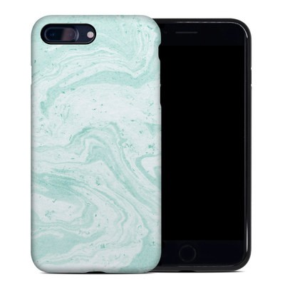 Apple iPhone 7 Plus Hybrid Case - Winter Green Marble