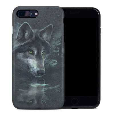 Apple iPhone 7 Plus Hybrid Case - Wolf Reflection