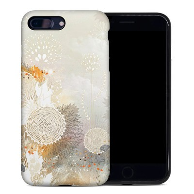 Apple iPhone 7 Plus Hybrid Case - White Velvet