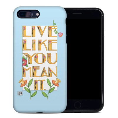 Apple iPhone 7 Plus Hybrid Case - Mean It