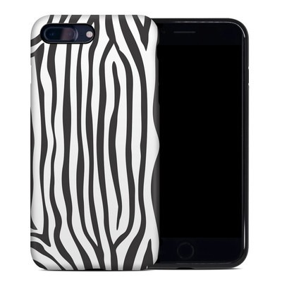 Apple iPhone 7 Plus Hybrid Case - Zebra Stripes