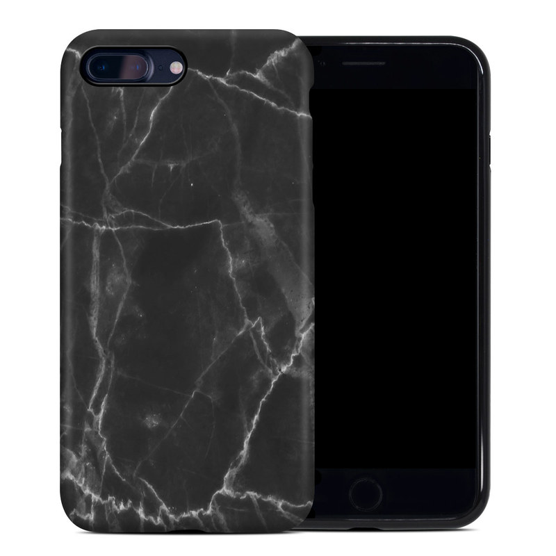 Apple Iphone 7 Plus Hybrid Case Black Marble By Marble