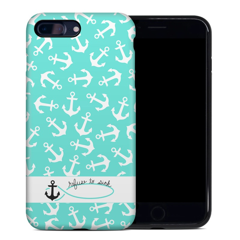 apple iphone 7 plus hybrid case refuse to sink by brooke boothe decalgirl. Black Bedroom Furniture Sets. Home Design Ideas