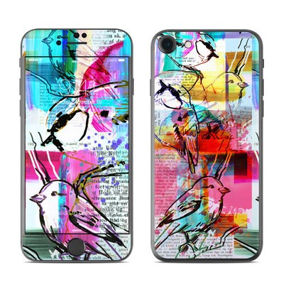 Apple iPhone 8 Skin - Book Birds