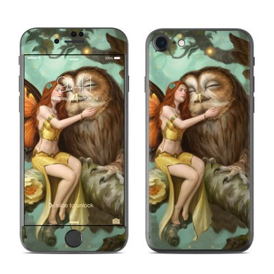 Apple iPhone 8 Skin - Fairy and Owl