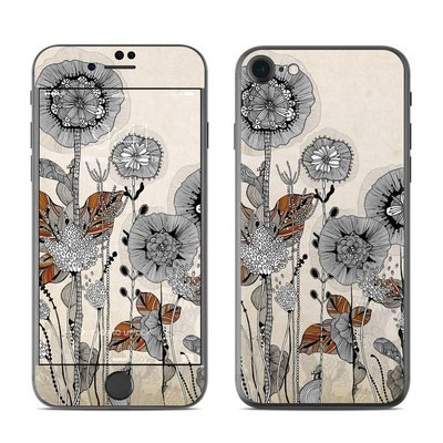 Apple iPhone 8 Skin - Four Flowers