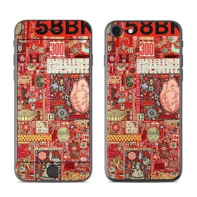 Apple iPhone 8 Skin - Heart and Teeth
