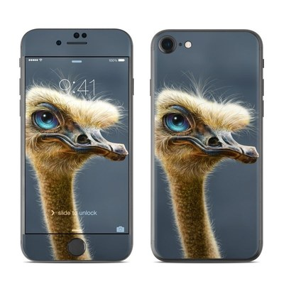 Apple iPhone 8 Skin - Ostrich Totem