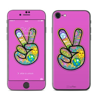 Apple iPhone 8 Skin - Peace Hand
