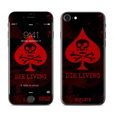 Apple iPhone 8 Skin - SOFLETE Die Living Guts