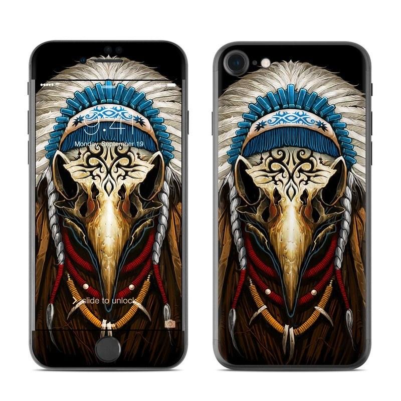 Eagle Skull By Abrar Ajmal: Apple IPhone 8 Skin - Eagle Skull By Abrar Ajmal