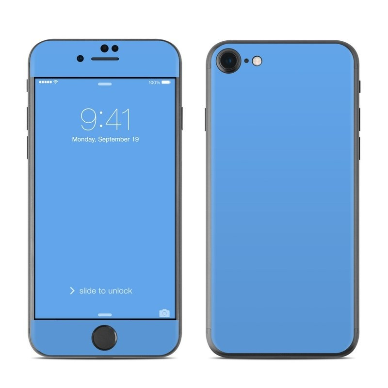 new style 0eb16 94582 Apple iPhone 8 Skin - Solid State Blue