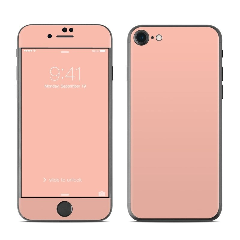 peach iphone 8 phone case