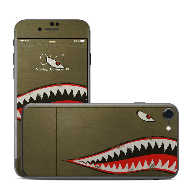 reputable site 2b347 94f9d Apple iPhone 8 Skin - USAF Shark
