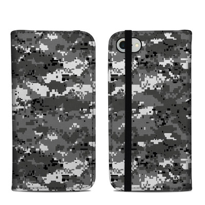 Apple iPhone 8 Folio Case - Digital Urban Camo
