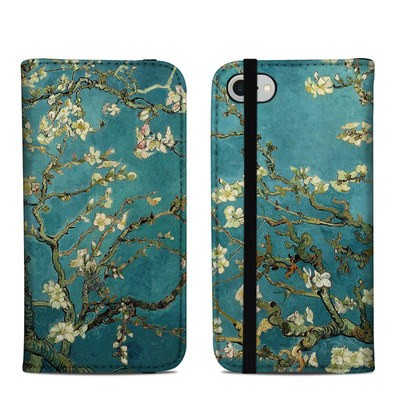 Apple iPhone 8 Folio Case - Blossoming Almond Tree
