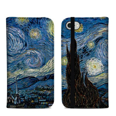 Apple iPhone 8 Folio Case - Starry Night