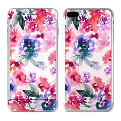 Apple iPhone 8 Plus Skin - Blurred Flowers