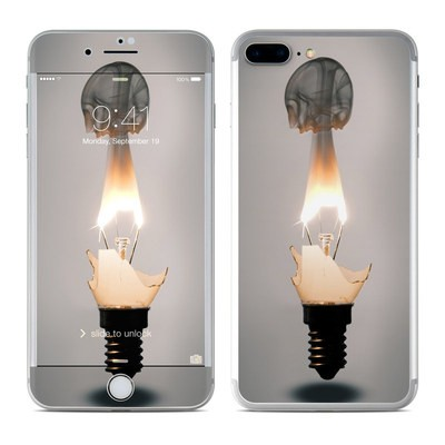Apple iPhone 8 Plus Skin - Burning Bulb