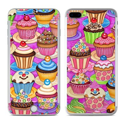Apple iPhone 8 Plus Skin - Cupcake