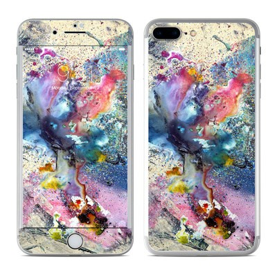 Apple iPhone 8 Plus Skin - Cosmic Flower