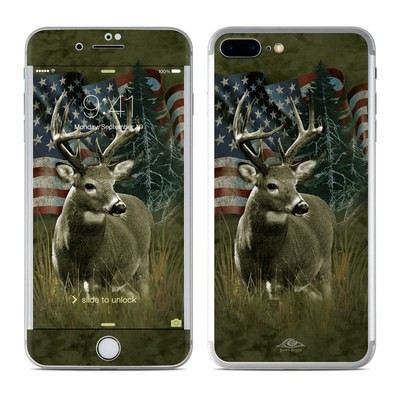 Apple iPhone 8 Plus Skin - Deer Flag