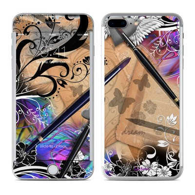 Apple iPhone 8 Plus Skin - Dream Flowers