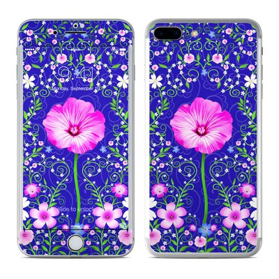 Apple iPhone 8 Plus Skin - Floral Harmony