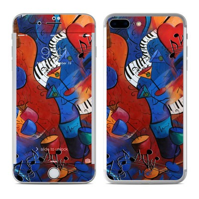 Apple iPhone 8 Plus Skin - Guitar Music