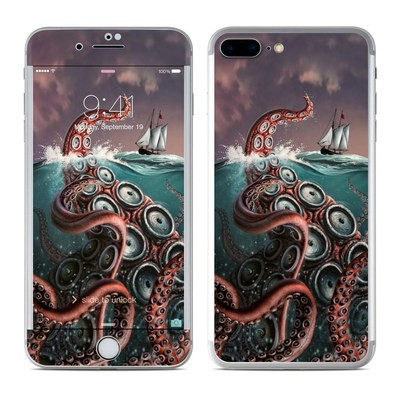 Apple iPhone 8 Plus Skin - Kraken