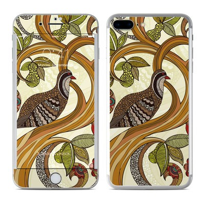Apple iPhone 8 Plus Skin - Little Partridge