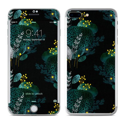 Apple iPhone 8 Plus Skin - Night Seaflower