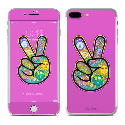 Apple iPhone 8 Plus Skin - Peace Hand