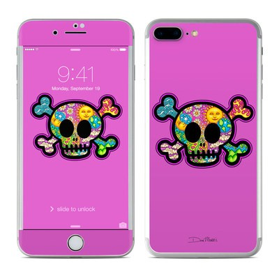 Apple iPhone 8 Plus Skin - Peace Skull