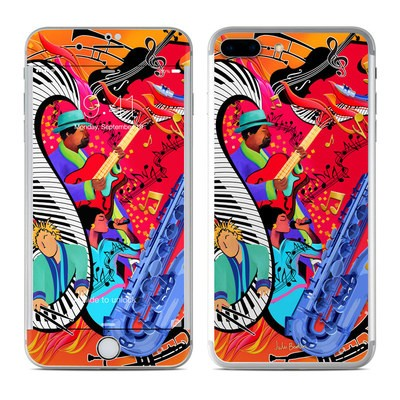 Apple iPhone 8 Plus Skin - Red Hot Jazz