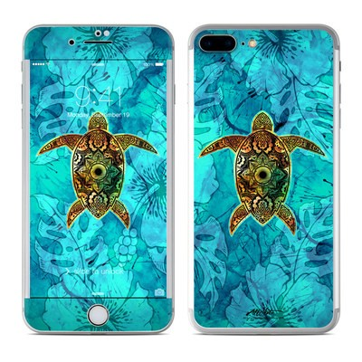 Apple iPhone 8 Plus Skin - Sacred Honu
