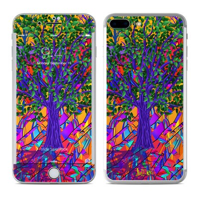 Apple iPhone 8 Plus Skin - Stained Glass Tree