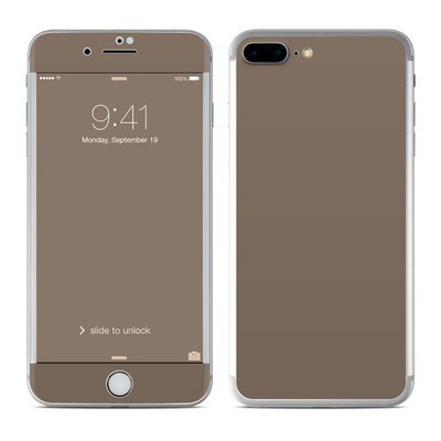 Apple iPhone 8 Plus Skin - Solid State Flat Dark Earth