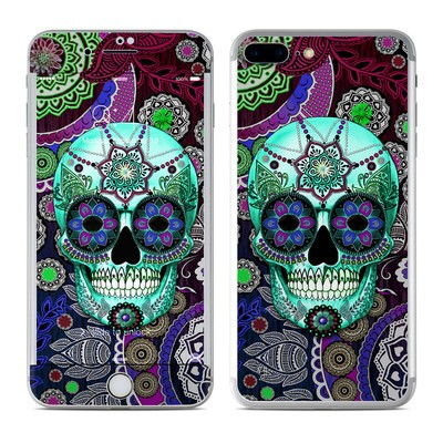 Apple iPhone 8 Plus Skin - Sugar Skull Sombrero