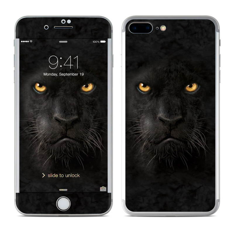 Apple Iphone 8 Plus Skin Black Panther By The Mountain Decalgirl