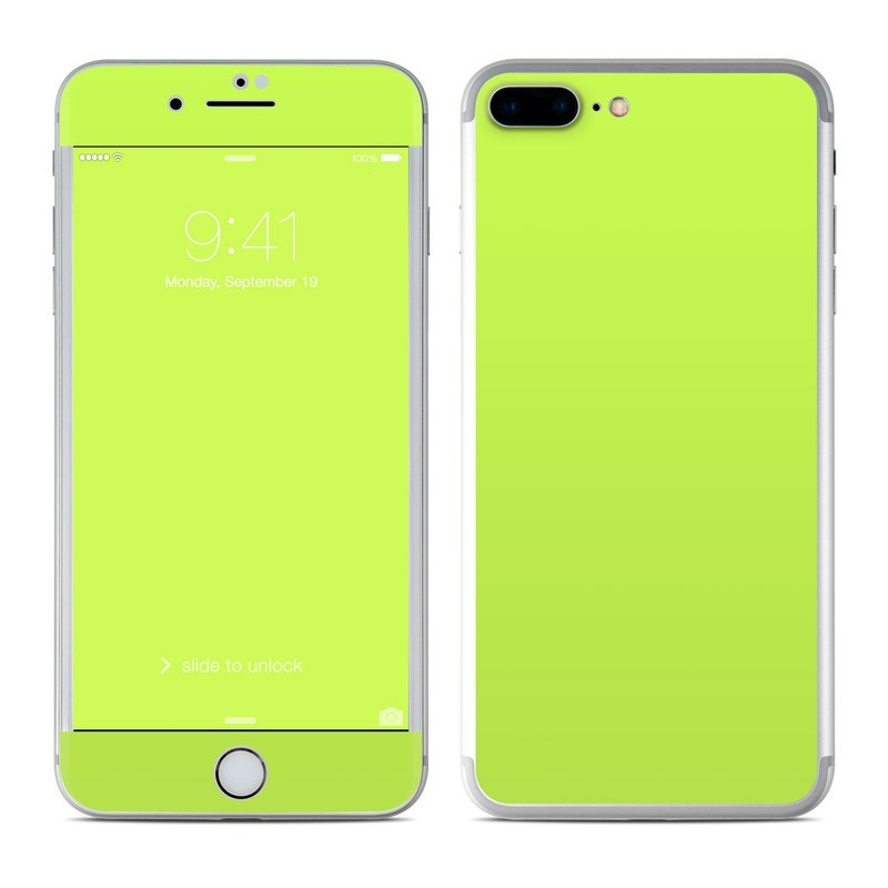 wholesale dealer 8a829 2651b Apple iPhone 8 Plus Skin - Solid State Lime