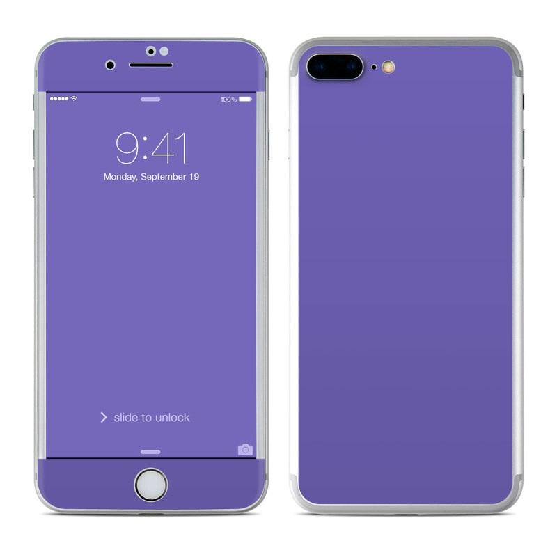 detailed look eeaba 8fdfa Apple iPhone 8 Plus Skin - Solid State Purple