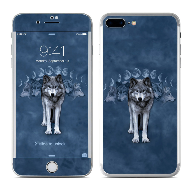 premium selection 77a03 388f0 Apple iPhone 8 Plus Skin - Wolf Cycle