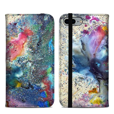 Apple iPhone 8 Plus Folio Case - Cosmic Flower