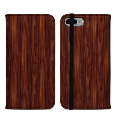 Apple iPhone 8 Plus Folio Case - Dark Rosewood