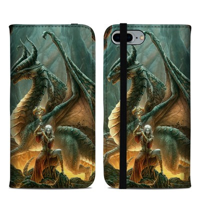 Apple iPhone 8 Plus Folio Case - Dragon Mage