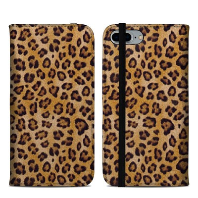 Apple iPhone 8 Plus Folio Case - Leopard Spots