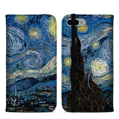 Apple iPhone 8 Plus Folio Case - Starry Night